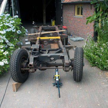 Restauratie chassis
