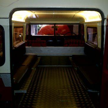 Interior and engine bay lighting