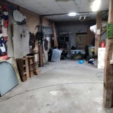 An empty spot in my barn