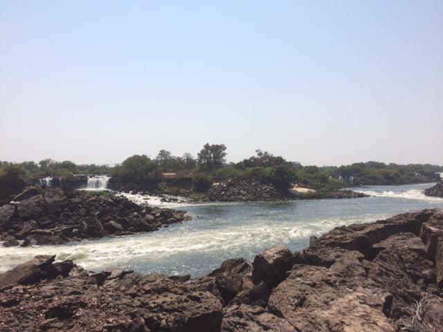 The Zambezi and the Victoria Falls