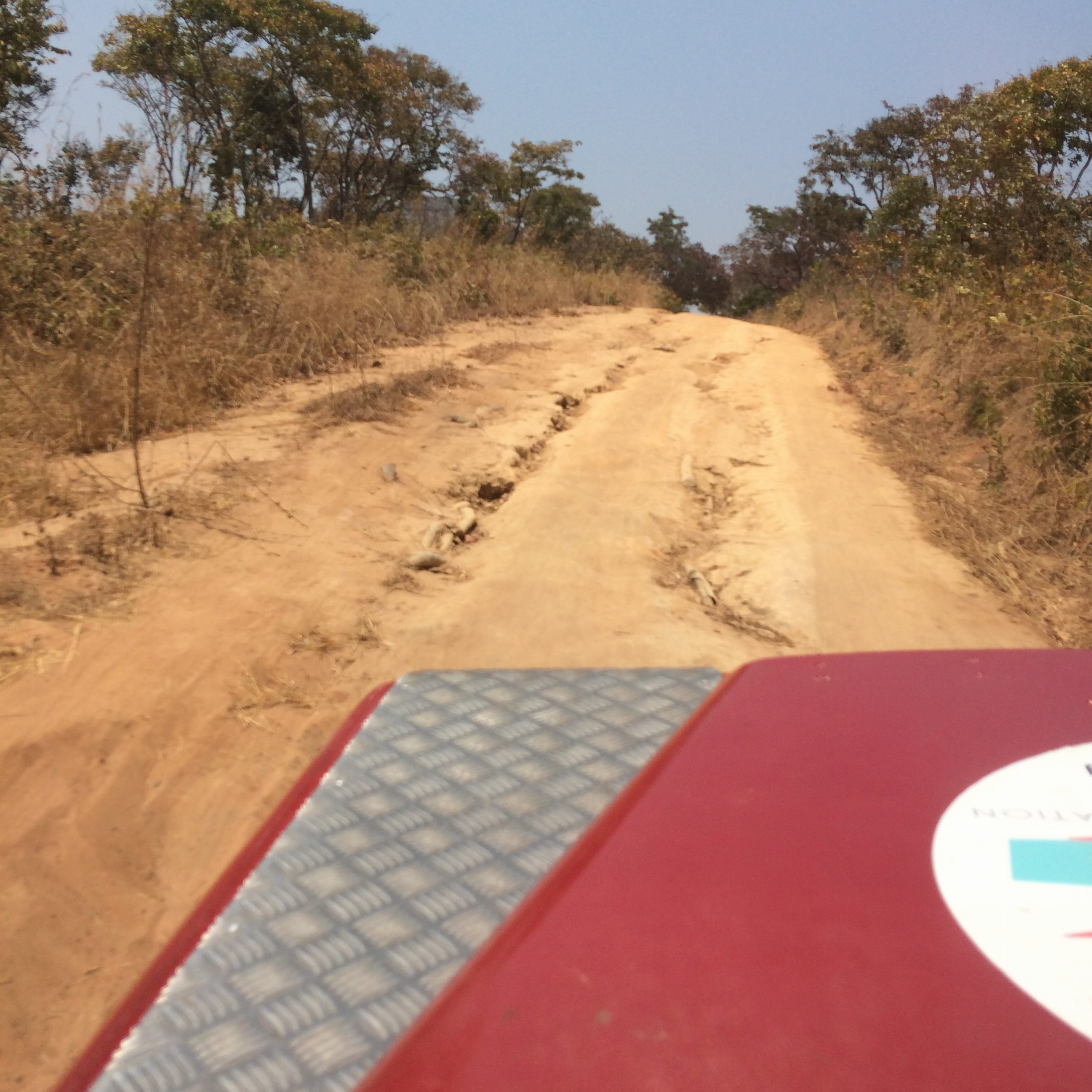 the road to South Luangwa National Park, Zambia
