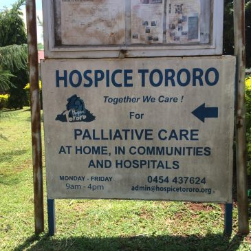 A visit to the hospice Tororo