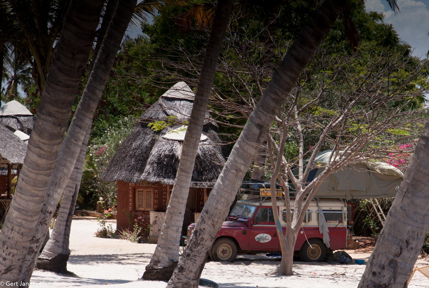 Chillen bij Mahaba Beach