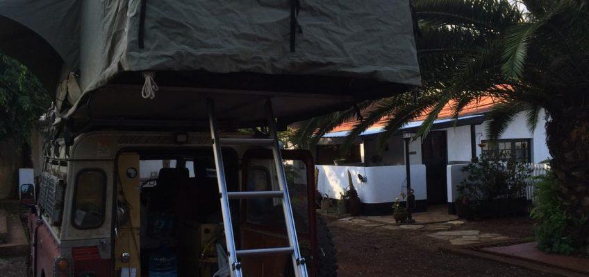 camping at boer Wim, Kilimanjaro, Tanzania