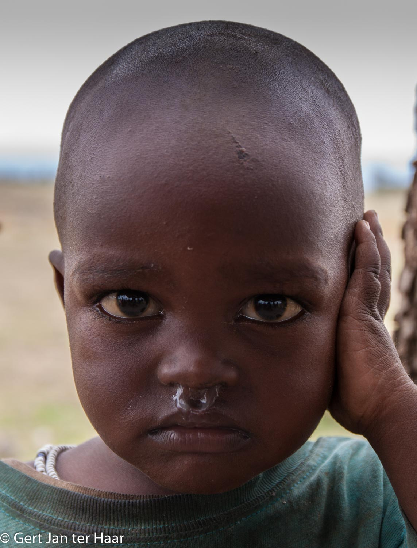 child, Maasai village, Maasai land near Arusha, Tanzania