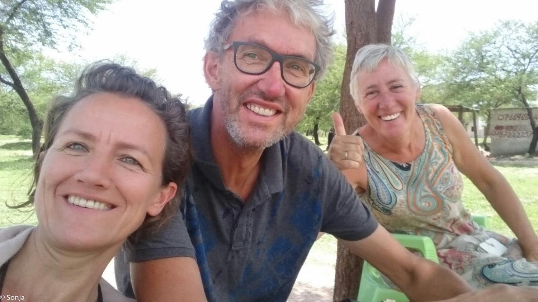 Annemarie, Sonja and Gert Jan, Iringa, Tanzania