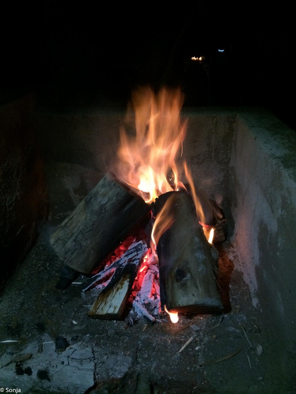 bon fire Zvakanaka Campsite, Louis Trichard/Makhado, South Africa