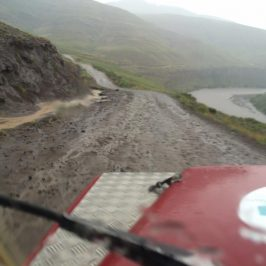 offroad in Lesotho